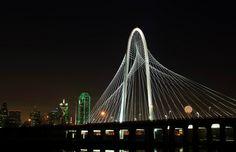 Santiago Calatrava's Dallas Bridge