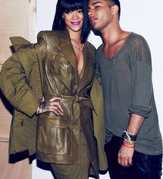 Rihanna at #PFW. Watch her perform live on L+T.