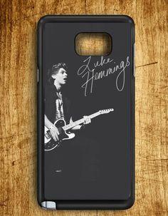5 Second Of Summer Luke Hemmings Guitar Samsung Galaxy Note 5   Samsung Note 5 Case