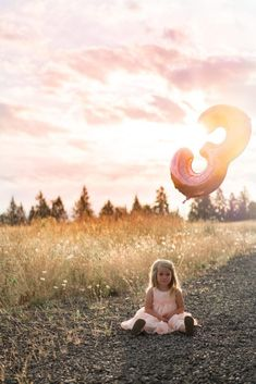 Our Sweet Madison Jean is Three – Celebrating Our Birthday Girl - Donuts 3rd Birthday Pictures, Girls 3rd Birthday, Little Girl Birthday, Birthday Month, Birthday Crowns, Birthday Morning, Golden Hour Photos, Rose Gold Balloons, Girl Photo Shoots