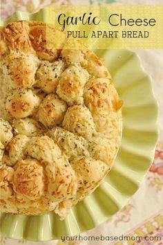 Garlic Bread Pull Apart Bread