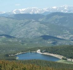 Mt. Evans in Colorado is one of my favorite places.  Beautiful!