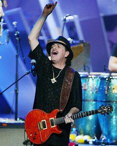 Carlos Santana - Photographic Print