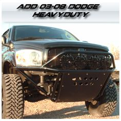 2003 - 2008 Dodge Ram Heavyduty Front Bumper