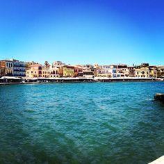 Visiting colorful Crete with Azamara Club Cruises.