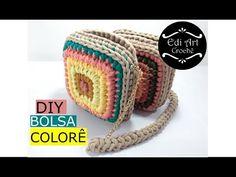 Captivating All About Crochet Ideas. Awe Inspiring All About Crochet Ideas. Crochet Wallet, Crochet Coin Purse, Bag Crochet, Crochet Shell Stitch, Crochet Diy, Crochet Handbags, Crochet Purses, Crochet Gifts, Crochet Motif