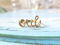 """""""Oui"""" ring"""