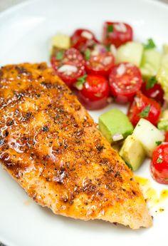 Delicious Meets Healthy | Honey Chipotle Chicken | http://www.deliciousmeetshealthy.com