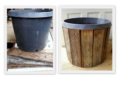More Pallet Board & Nursery Pot Planters