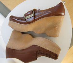 Famolare Vintage Platform Shoes by JoulesVintage, via Flickr
