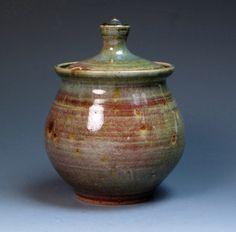 Michael Leach Yelland Pottery Jam Pot Honey Pot by MugsMostly