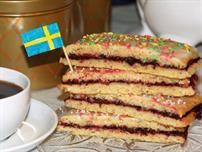 Schwedische Brombeerschnitten - fruchtig-süß