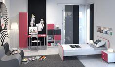 Πρόταση Modeco για νεανικό εφηβικό δωμάτιο! Δείτε αναλυτικά στο http://www.modeco.gr/paidiko---neaniko/neaniko/20 #modeco