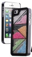 Kaleidoscope Stones in Case with Stylus and Great Screen Protector for iPhone 5, 5S by Pandamimi (FREE SHIPPING!) - Detailed item view - Cool Mobile Accessories