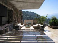 Espectacular casa mediterranea con maravillosa vista Engel & Völkers Exposé   T-1405587 - ( Chile, Región Metropolitana de Santiago, Lo Barnechea, Golf De Manquehue )
