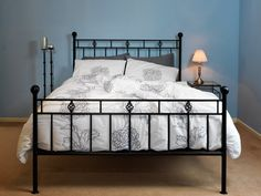 Victorian 6' Iron Bed