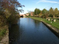The Grand Union Canal at Whilton Locks