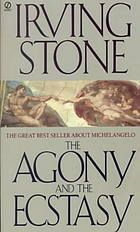 "DOWNLOAD BOOK ""The Agony and the Ecstasy by Irving Stone""  for français pocket english story acquire get sale"