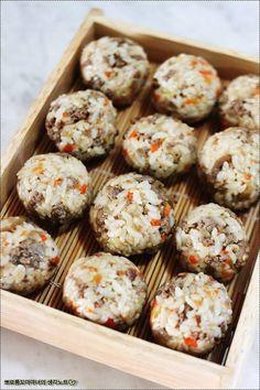 [쇠고기주먹밥] 우리가족 속 든든하게 해주는 쇠고기 주먹밥 – 레시피 | Daum 요리