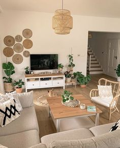 Living Room Decor Cozy, Boho Living Room, Bedroom Decor, Home Room Design, Home Interior Design, Living Room Designs, House Design, Living Room Inspiration, Home Decor