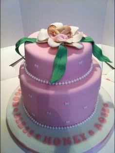 Adorable Sleeping baby Cake ~ All edible