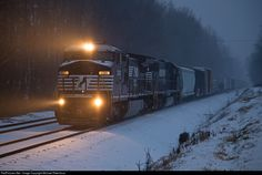 RailPictures.Net Photo: NS 8329 Norfolk Southern GE C40-8W (Dash 8-40CW) at Spencer, North Carolina by Michael Ridenhour