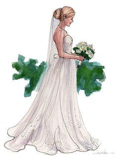 Inslee portrait of a bride named Katherine