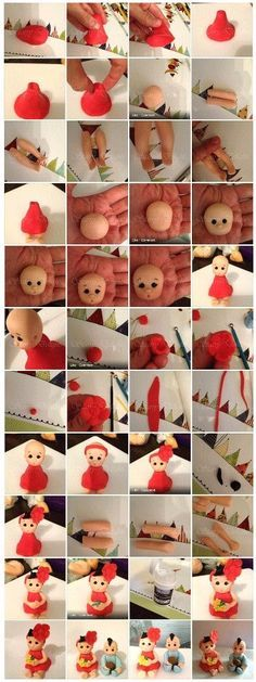 Little Girl Topper Picture Tutorial