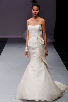 Rivini Honorine Fit to Flare Wedding Dress for Nearly Newlywed #Rivini #Wedding #Bridal