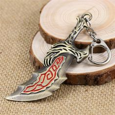 Buy GOD OF WAR Kratos Blades of Chaos Keychain at Pica Collection for only $ 12.95