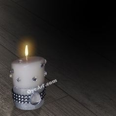 Handmade Designer Candle For Diwali