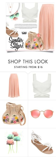 """""""Yoins 28/30"""" by millilolly ❤ liked on Polyvore featuring Ray-Ban, Michael Kors, yoins, yoinscollection and loveyoins"""