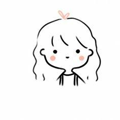 Mini Drawings, Kawaii Drawings, Doodle Drawings, Easy Drawings, Cartoon Art Styles, Cute Art Styles, Arte Indie, Minimalist Icons, Cute Love Gif