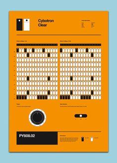 Roland TR-808 Pattern Poster