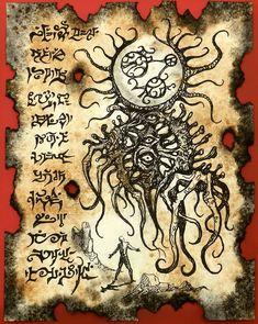 The Monster God of Yaddith Gho by MrZarono.deviantart.com on @deviantART