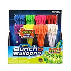 Zuru Bunch O Balloons Rapid Refill Water Balloons - 8 pack Water Balloon Fight, Balloon Pump, The Balloon, Water Fight, 12 Year Old Boy, Water Party, Water Toys, Water Games, Gadgets