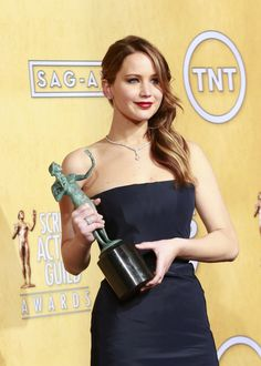 SAG Awards 2013. She won Best Female Actor in a leading role
