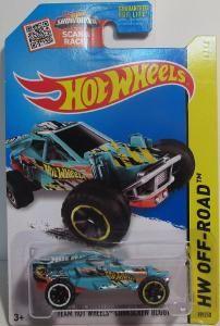 Mattel Hot Wheels Team Hot Wheels Corkscrew Buggy Treasure Hunt
