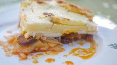 Rakott édesburgonya Casserole, Eggs, Menu, Breakfast, Food, Menu Board Design, Morning Coffee, Essen, Casseroles