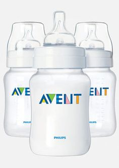 Easy to clean and BPA-free, the new Avent bottles are a big improvement on earlier models. #babycenterknowsgear