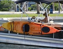 Kayak Rack for Pontoon Boats