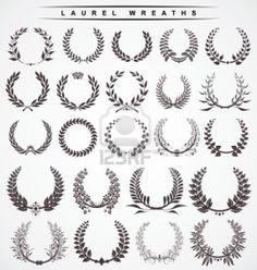 laurel wreaths Stock Photo - 11765737