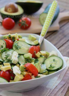 Light Recipes, Clean Recipes, Healthy Recipes, Feta, Cold Dishes, Best Italian Recipes, Slow Food, Everyday Food, Salad Recipes
