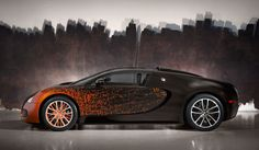 Seeing any Bugatti Veyron—heck, any Bugatti—on a public road will induce a double take, but the one-off collaboration between the automaker and the French artist Bernar Venet? Well, that's essentially unheard of. Car spotter Jeroen, a popular Youtuber with an uncanny ability to stumble...
