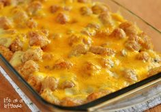 Tater Tot Casserole from Life as a Lofthouse (Food Blog)