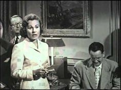 In honor of the passing of Elaine Stewart this past week, I'm posting a YouTube link to the film noir, The Tattered Dress (1957). Also starring, Jeff Chandler, Jeanne Crain, Philip Reed, Gail Russe...