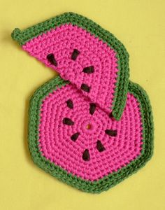 Whit's Knits: Fruity Trivets and Pot Holders - The Purl Bee - Knitting Crochet Sewing Embroidery Crafts Patterns and Ideas!