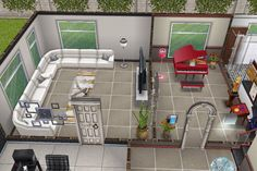 House 3 Building Ground Floor Piano Room And Living See More Sims Freeplay