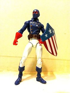 the patriot marvel | Marvel Universe Wave 17 In Hand Images