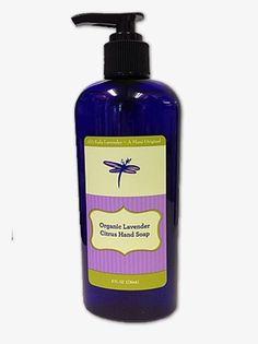 Organic Lavender Citrus Hand Soap